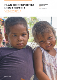 Cover of Plan de respuesta humanitaria Venezuela