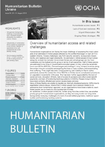 Humanitarian Bulletin
