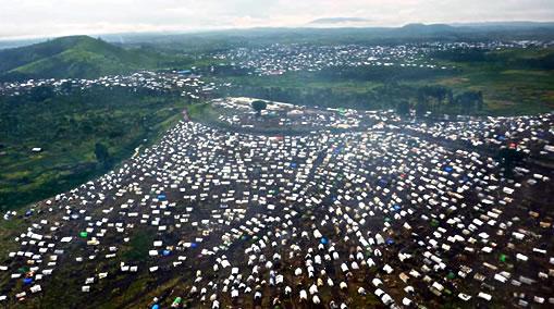 Site de déplacement de Kitchanga, Territoire de Masisi, Province du Nord-Kivu – Mars 2013