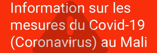 Information sur Coronavirus