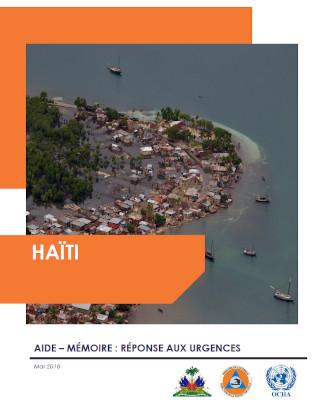 Cover of Haïti : Aide-mémoire – Réponse aux urgences, mai 2018