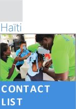 Cover of Haïti : Liste de contacts humanitaires, mai 2020