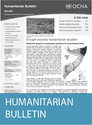 Cover of Humanitarian Bulletin
