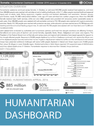 Cover of Humanitarian Dashboard