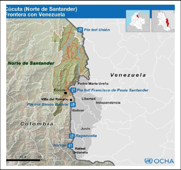 Frontera colombo-venezolana (Norte de Santander)