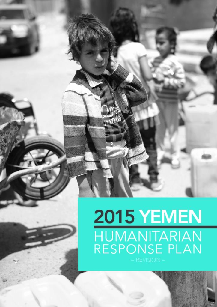2015 Yemen Humanitarian Response Plan Revised