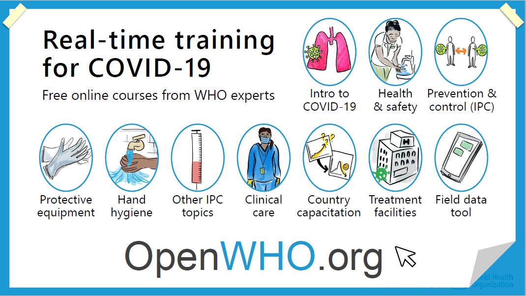COVID-19 trainings