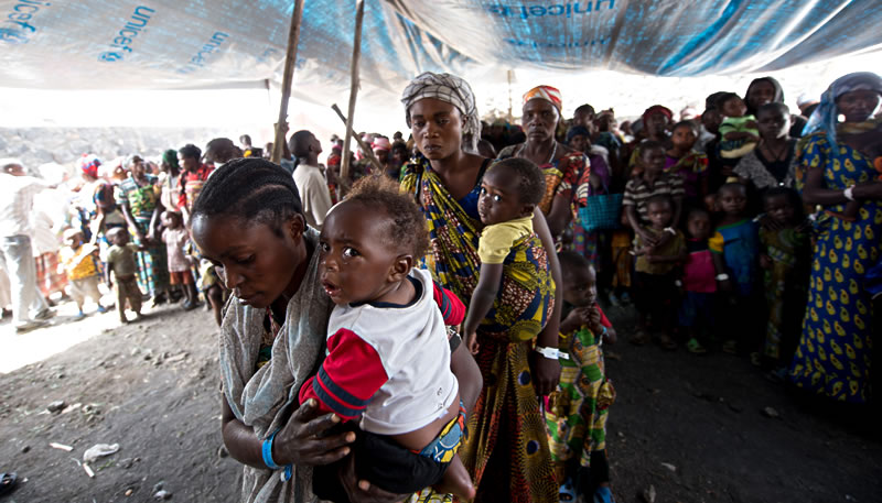 ©UNICEF RDC / 2013 / Brett Morton