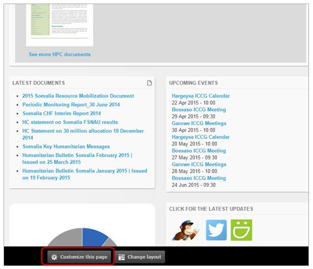 Adding content using RSS Feeds | HumanitarianResponse
