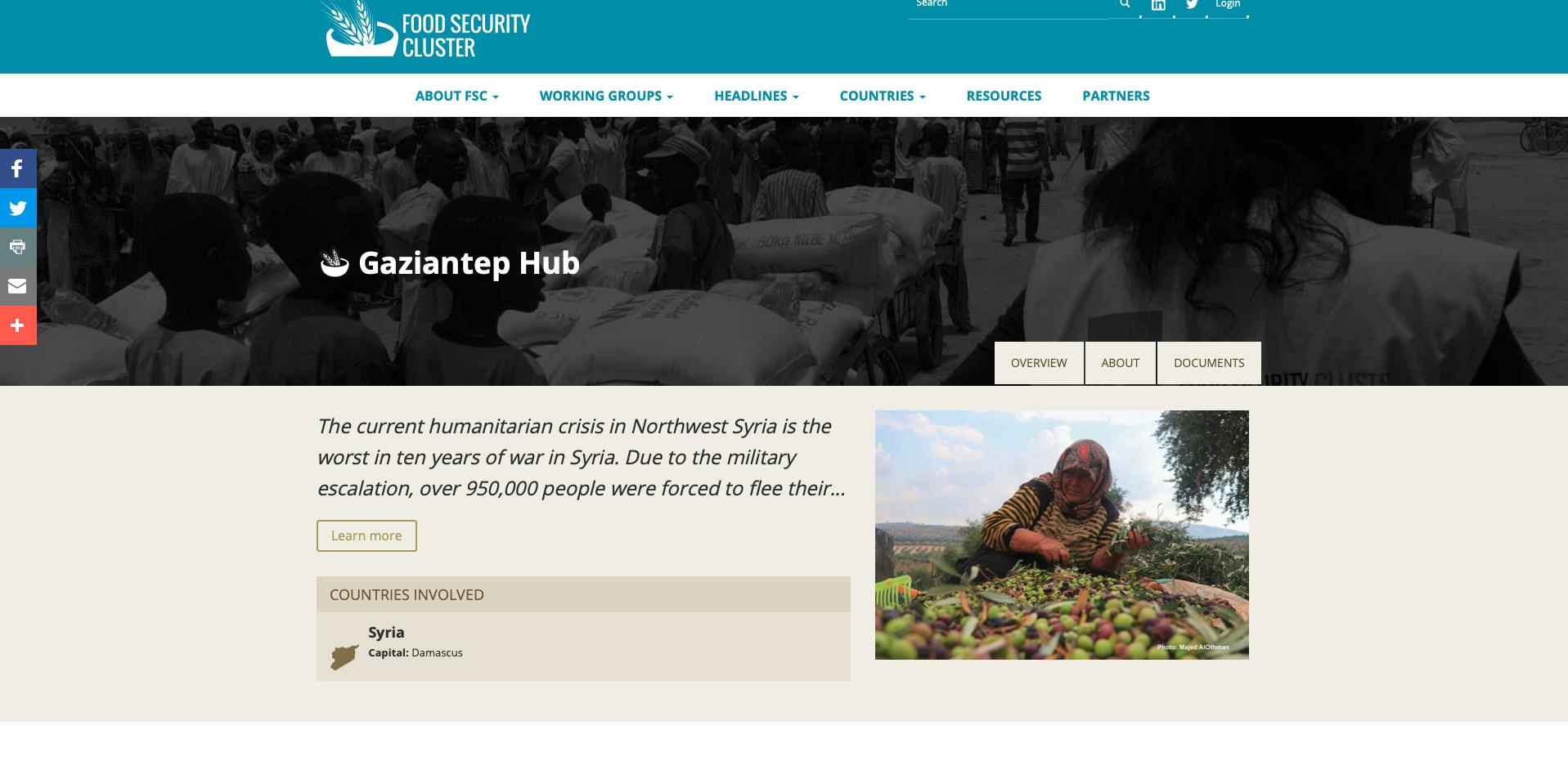 FSL Cluster ST Hub - Webpage