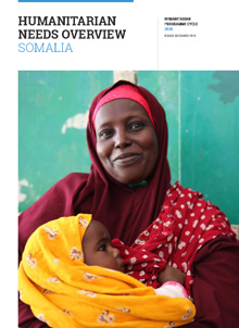 Cover of Humanitarian Needs Overview Somalia 2020