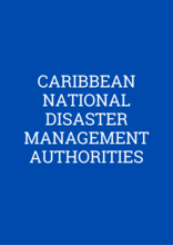Caribbean: National Disaster Management Authorities Cover