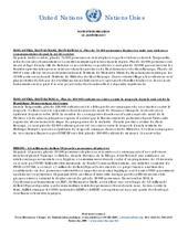 OCHA/ Tanganyika, Haut-Lomami, Haut-Katanga et Tshopo : Note d'informations humanitaires du 18 Janvier 2017
