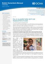 Colombia: Boletín Humanitario Junio 2017