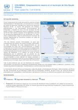 COLOMBIA:  Desplazamiento masivo en el municipio de Alto Baudó (Chocó)