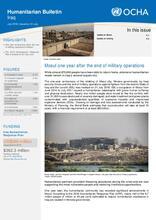 OCHA Iraq Humanitarian Bulletin - July 2018