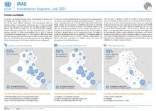 Iraq: Humanitarian Snapshot - July 2021 [EN][کوردی][العربية]