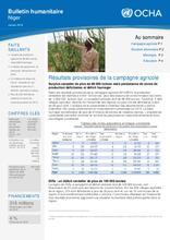 Niger: Bulletin humanitaire Janvier 2016