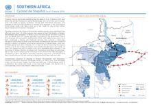 Southern Africa: Cyclone Idai Snapshot (as of 19 March 2019)