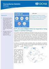 Ethiopia Bi-Weekly Humanitarian Bulletin, 16 AUG - 05 SEP 2021 [EN]