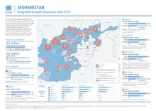 Afghanistan: Integrated Drought Response Dashboard (Aug 2018 - Apr 2019)