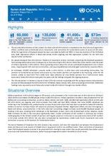 Syrian Arab Republic: Afrin Crisis Situation Report No. 4 as of 8 May
