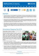 Republic of Congo: Pool Department Situation Report No. 04 (as of 12 March 2018) [EN/FR]