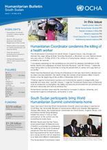 South Sudan: Humanitarian Bulletin, Issue Number 7 (30 May 2016)