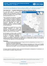 Flash Update No. 1 – Colombia: Desplazamiento masivo en el municipio de Barbacoas - Nariño