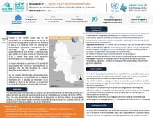 Alerta de Situación Humanitaria: Inundaciones en Puerto Santander (Norte de Santander). 10/05/2021
