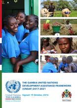 The Gambia United Nations Development Assistance Framework (UNDAF) 2017-2021