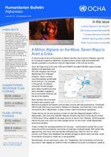 Monthly Humanitarian Bulletin (September 2016)