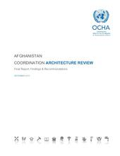 Afghanistan Coordination Architecture Review 2015 - Final Report Findings & Recommendations