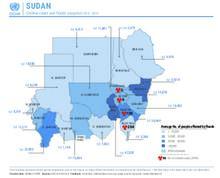 Cholera cases and floods snapshot 2016 - 2019