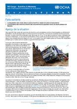 RD Congo - Sud-Kivu et Maniema : Note d'informations humanitaires du 15 mai 2018