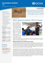 Iraq Humanitarian Bulletin 16-30 September 2017 | Issued on 1 October