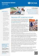 Humanitarian Bulletin Afghanistan | Issue 76 | 1 – 31 May 2018