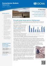 OCHA: Humanitarian Bulletin Afghanistan | Issue 75 | 1 – 30 April 2018