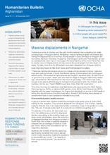 OCHA: Humanitarian Bulletin Afghanistan Issue 70 | 1 – 30 November 2017