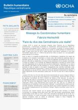 RCA: OCHA Bulletin Humanitaire [FR] (23 déc 2016)