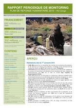 RDC - Rapport périodique de monitoring du Plan de Réponse Humanitaire 2015