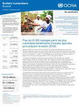 Burundi | Bulletin Humanitaire septembre 2018