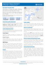 Afghanistan Weekly Field Report   26 November - 3 December 2018