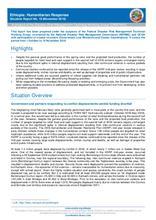 Ethiopia: Humanitarian Response Situation Report No. 19 (November 2018)