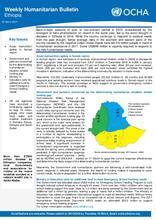 Ethiopia Weekly Humanitarian Bulletin, 20 March 2017