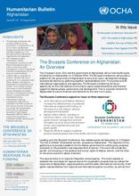 Monthly Humanitarian Bulletin (August 2016)
