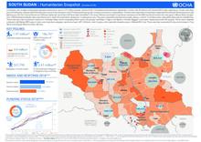 South Sudan: Humanitarian Snapshot (October 2018)