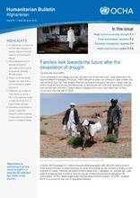 Humanitarian Bulletin Afghanistan | Issue 81 | 1 April – 30 June 2019