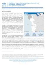 COLOMBIA: Flash Update No. 2 -Desplazamiento masivo y confinamiento en el municipio de Alto Baudó (Chocó) [CLONED]