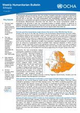Ethiopia Weekly Humanitarian Bulletin, 17 July 2017